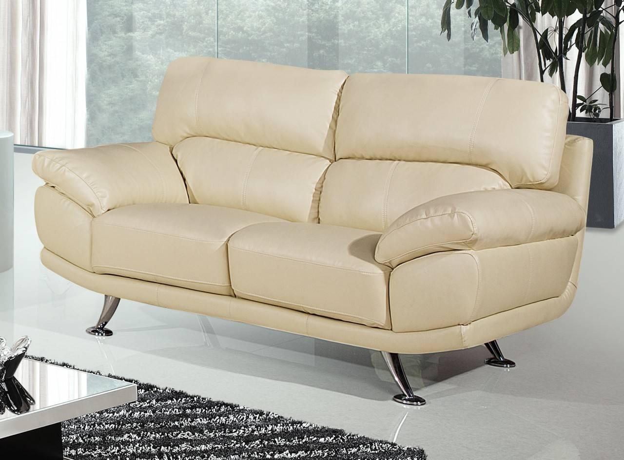 Cream Colored Leather Sofa Custom Cushions Sectional Sofas Atlanta within Cream Colored Sofa (Image 6 of 25)