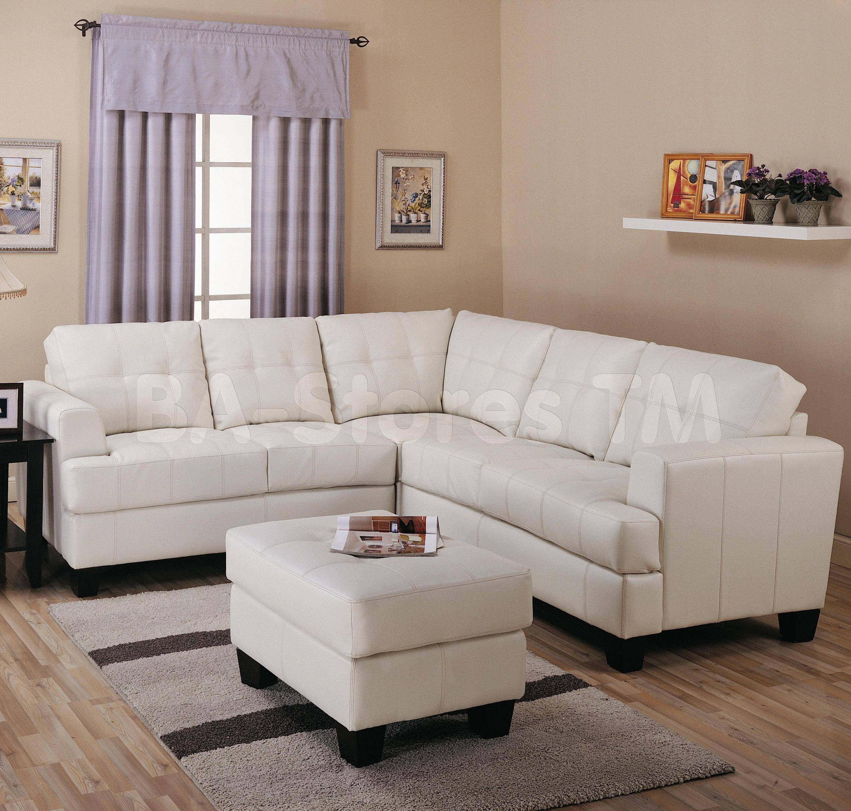2017 Popular f White Leather Sofa and Loveseat