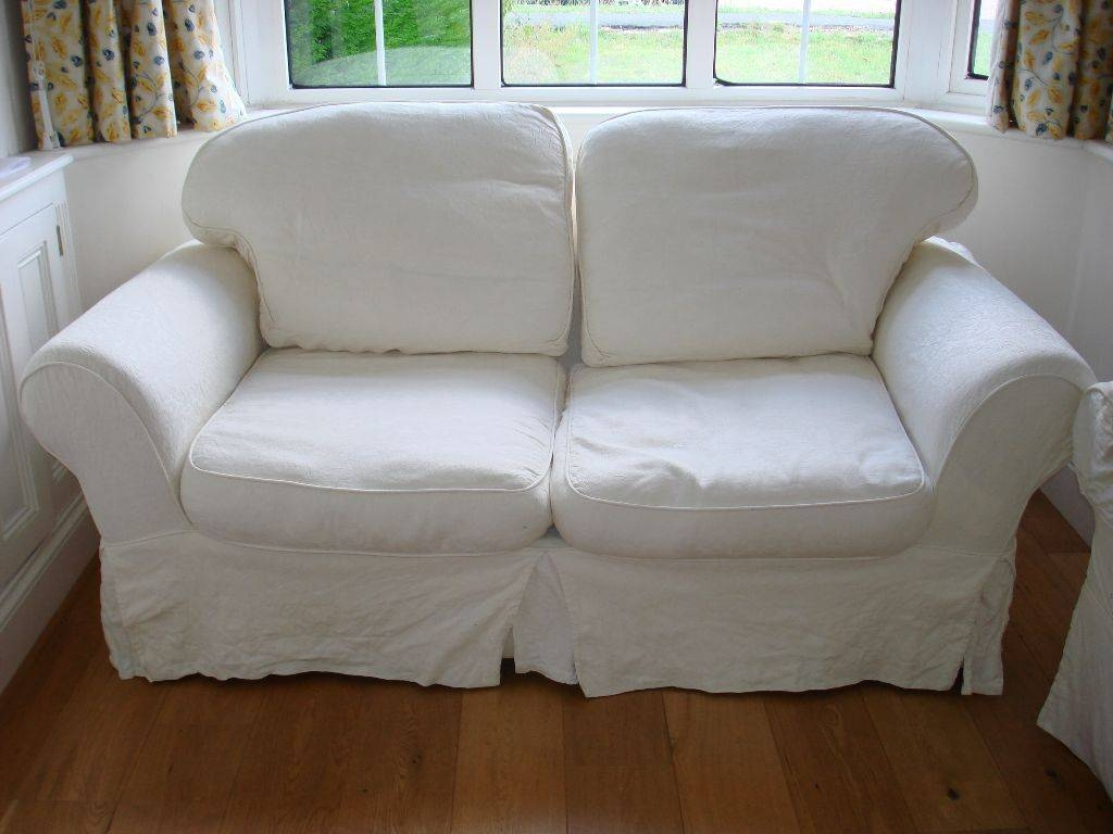 Cream Sofa Bed With Washable Removable Covers | In Epsom, Surrey throughout Sofa With Washable Covers (Image 2 of 30)