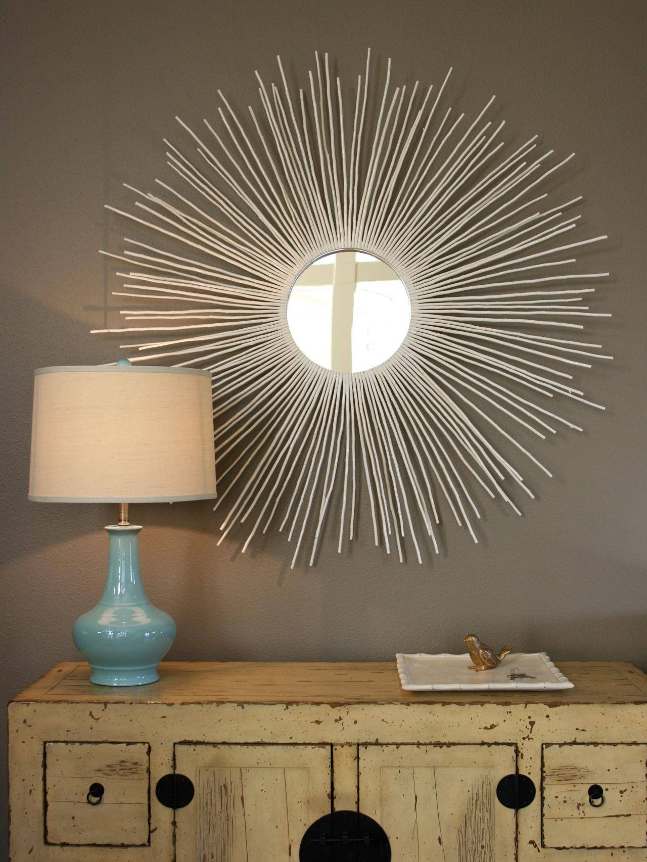 Create A Sunburst Mirror | Hgtv intended for Sun Mirrors (Image 4 of 25)