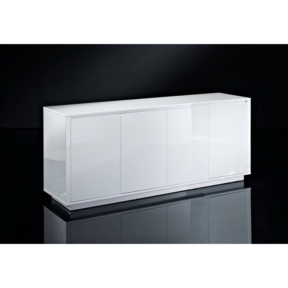 "Creative Furniture"" Blanch High Gloss White Buffet pertaining to Gloss White Sideboards (Image 9 of 30)"