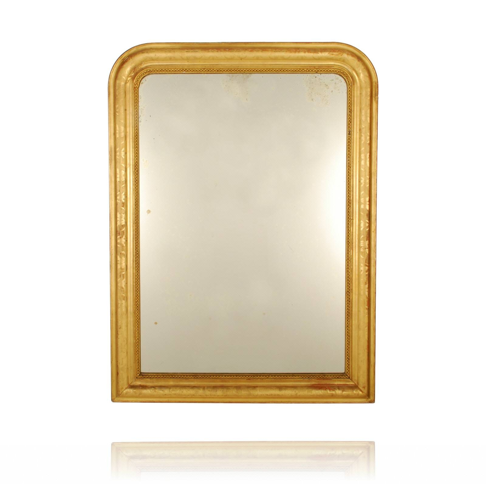 Creative Gold Leaf Mirror Lotusep Gold Leaf Mirrors For Sale Gold pertaining to Gold Antique Mirrors (Image 10 of 25)