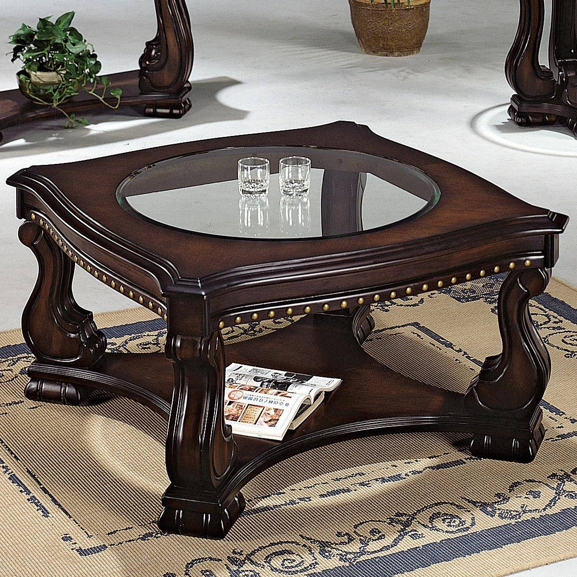 Crown Mark Madison Coffee Table - Wayside Furniture - Cocktail Or intended for Madison Coffee Tables (Image 7 of 30)