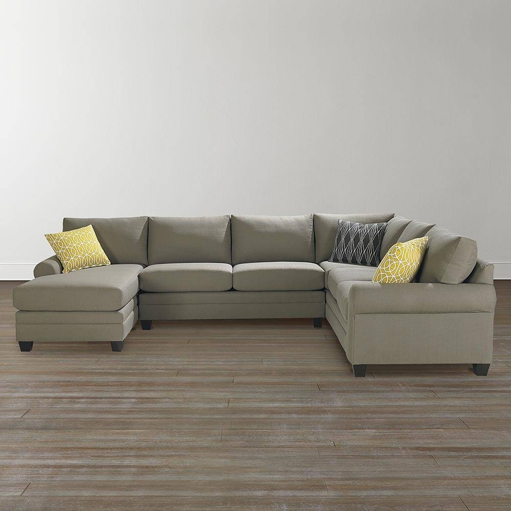 Cu.2 U Shaped Sectional Furniture | Bassett Home Furnishings with regard to U Shaped Leather Sectional Sofa (Image 4 of 25)