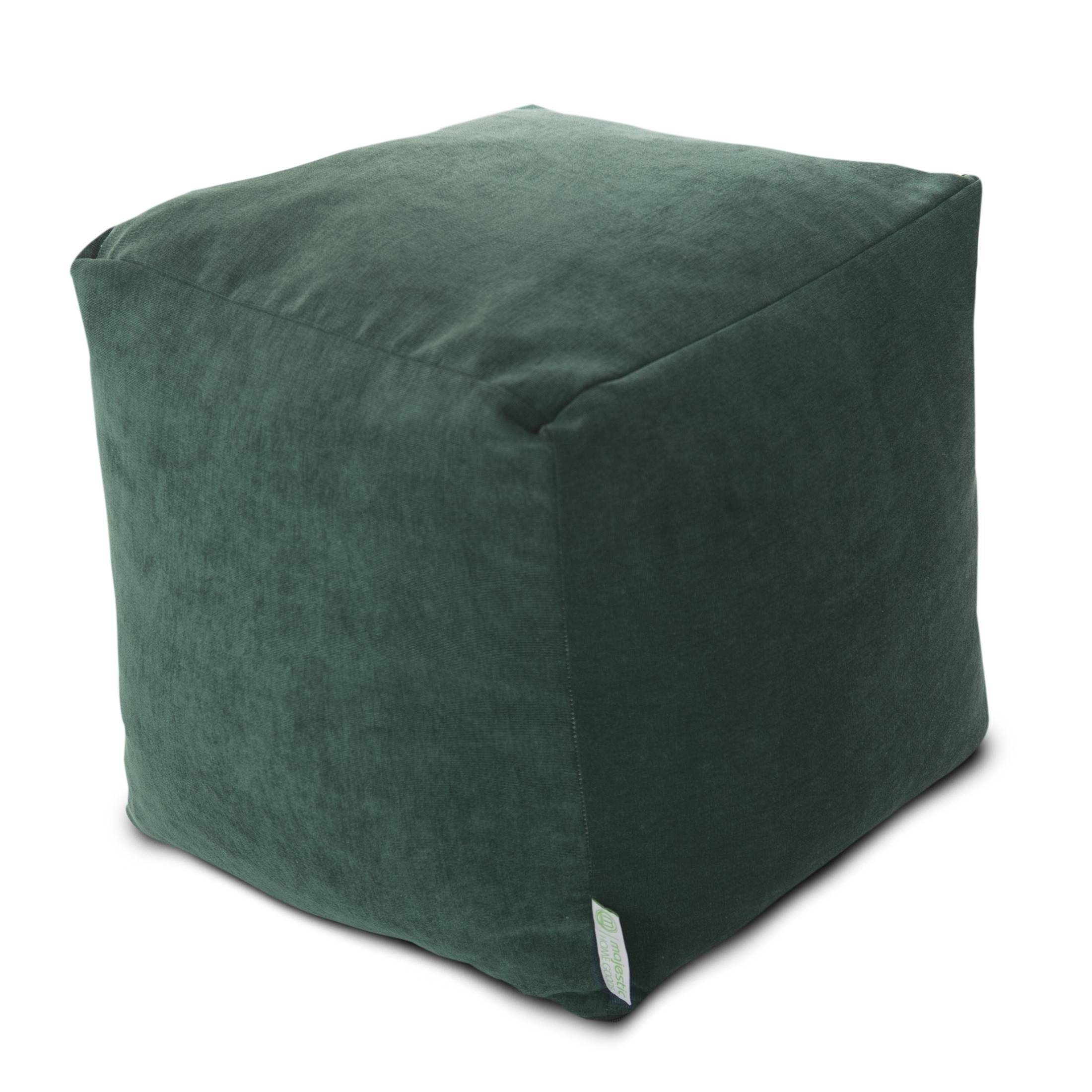 Cubes | Poufs | Footstools | Majestic Home Goods intended for Velvet Footstool (Image 16 of 30)