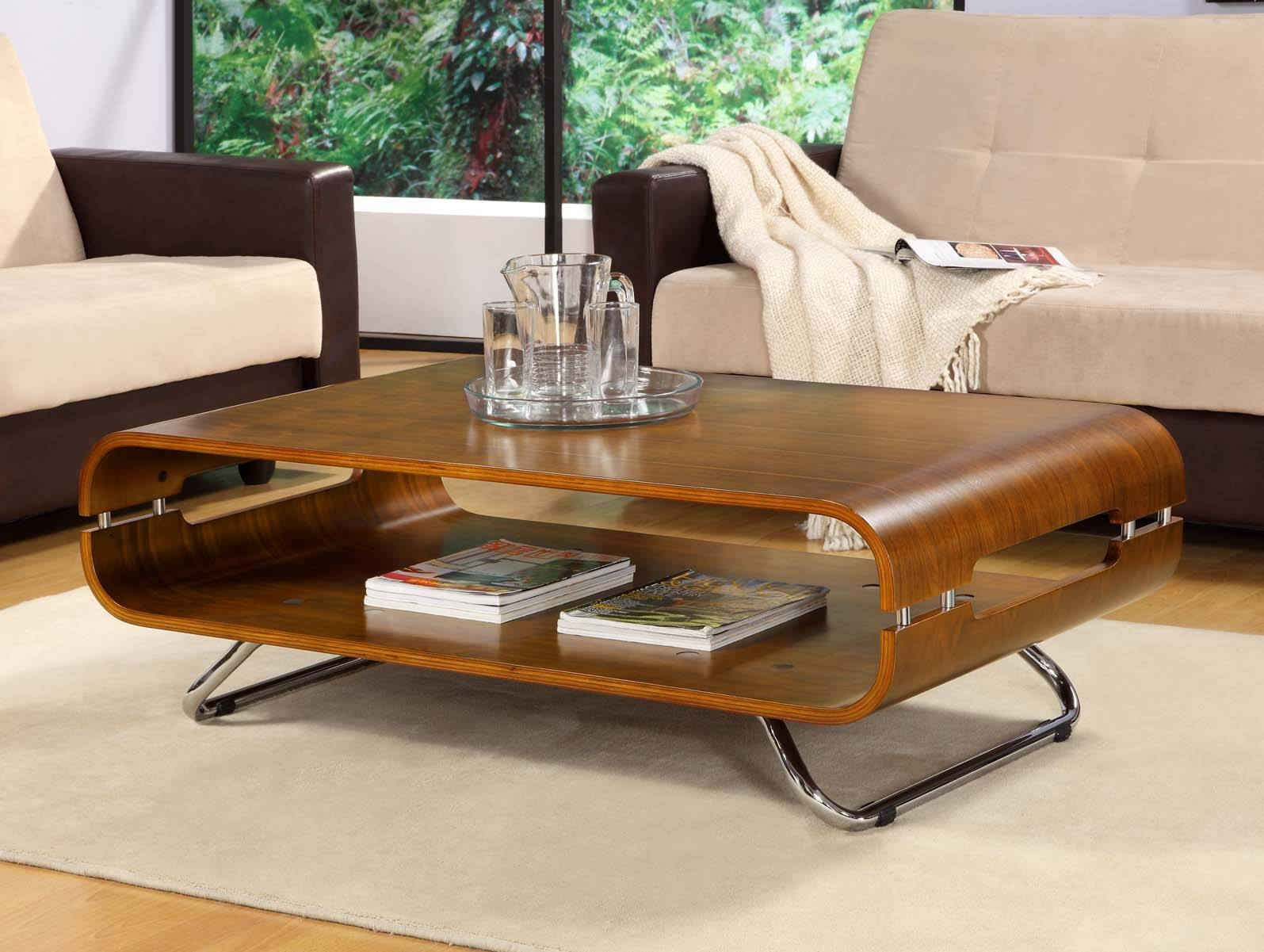 Curved Coffee Table Cool As Round Coffee Table And Cool Coffee Regarding Curve Coffee Tables (View 5 of 30)