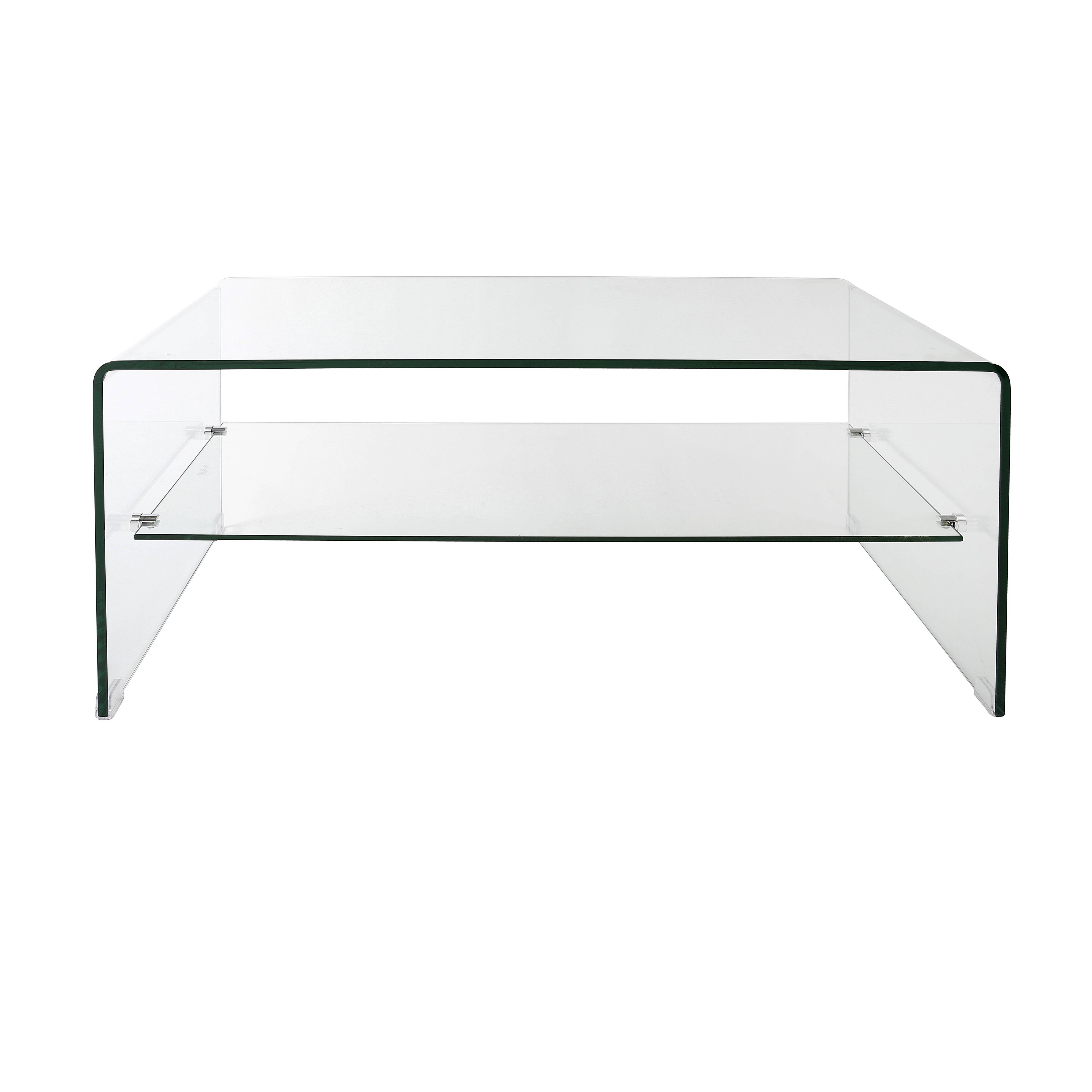 Top 30 of Curved Glass Coffee Tables