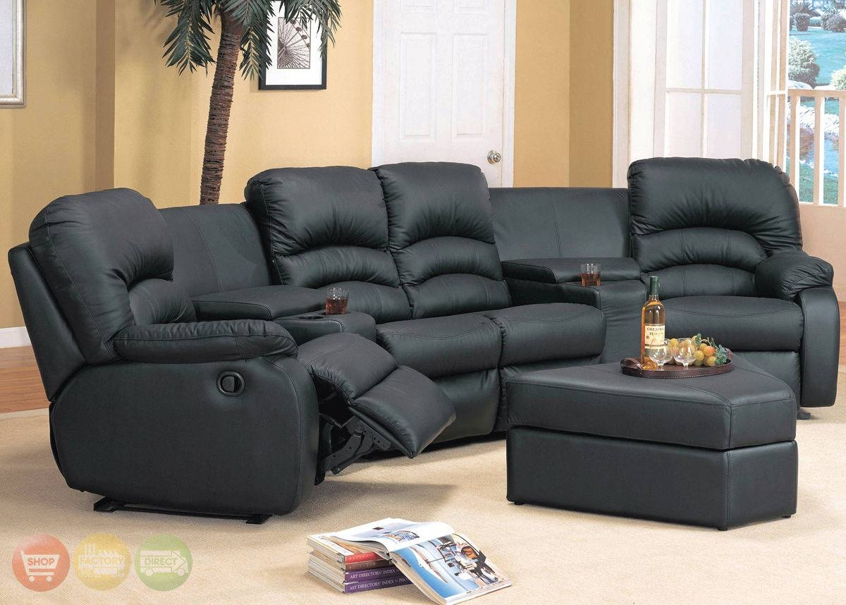 Curved Sectional Recliner Sofas - Tourdecarroll pertaining to Curved Recliner Sofa (Image 5 of 30)