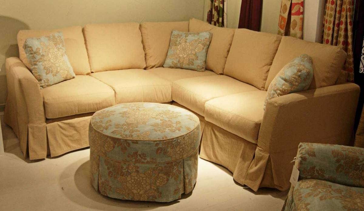 Curved Sectional Sofa Slipcovers | Tehranmix Decoration pertaining to Slipcover for Leather Sectional Sofas (Image 3 of 30)