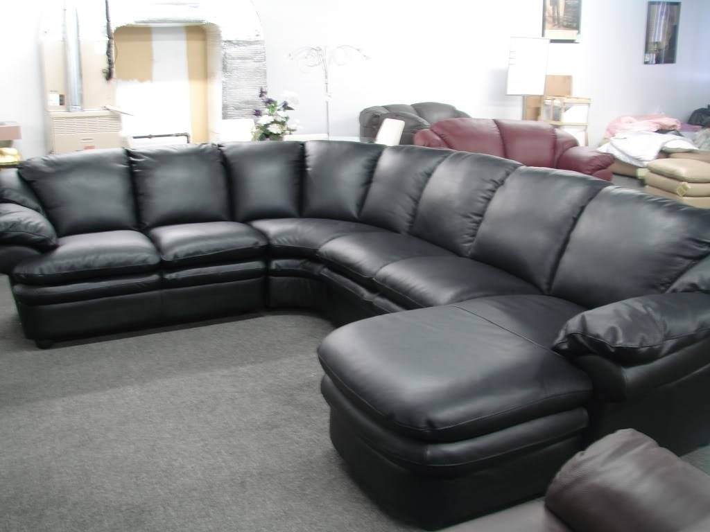 Curved Sectional Sofa With Recliner - Leather Sectional Sofa pertaining to Curved Recliner Sofa (Image 6 of 30)