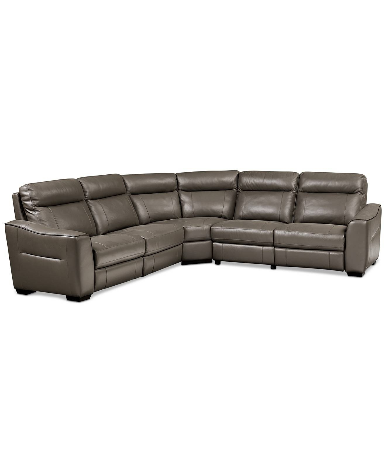 2017 Best of Curved Sectional Sofa With Recliner