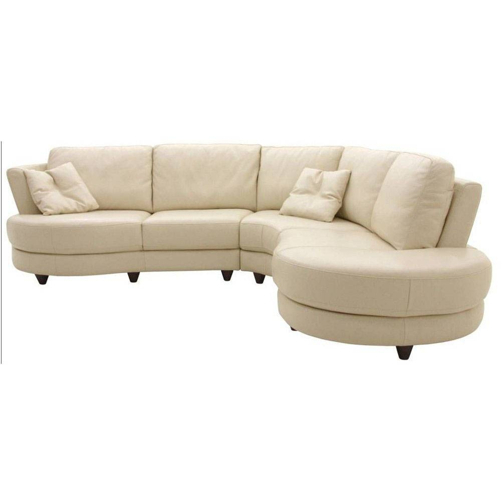 Curved Sectional Sofas For Small Spaces | Tehranmix Decoration throughout Round Sectional Sofa (Image 5 of 30)