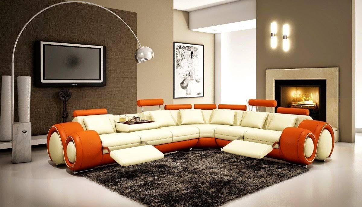 Curved Sofas And Loveseats Reviews: Curved Sectional Sofa With throughout Curved Sectional Sofa With Recliner (Image 5 of 30)