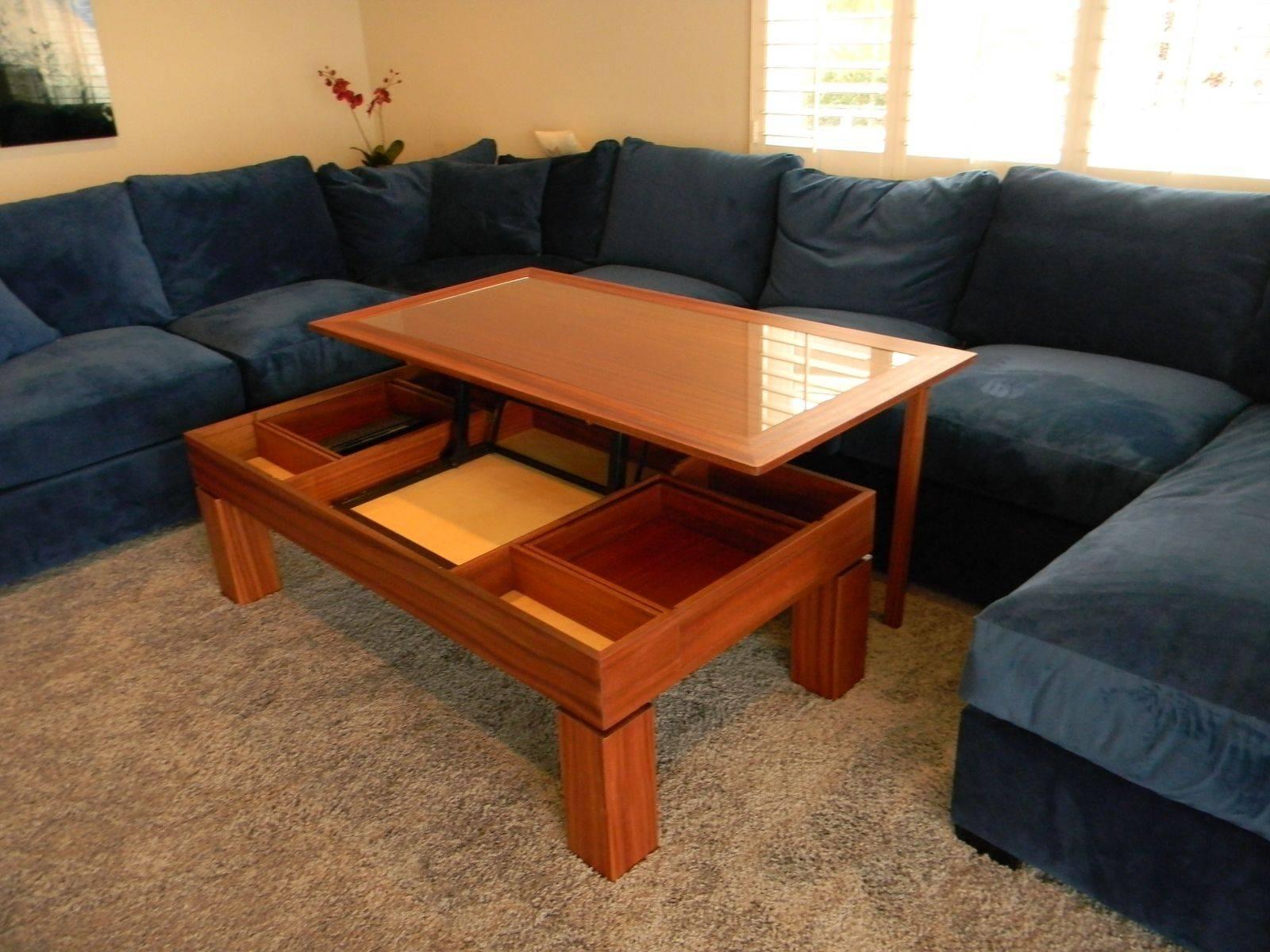 Custom Coffee Tables | Handmade Wood Coffee Tables | Custommade intended for Coffee Tables Extendable Top (Image 7 of 30)
