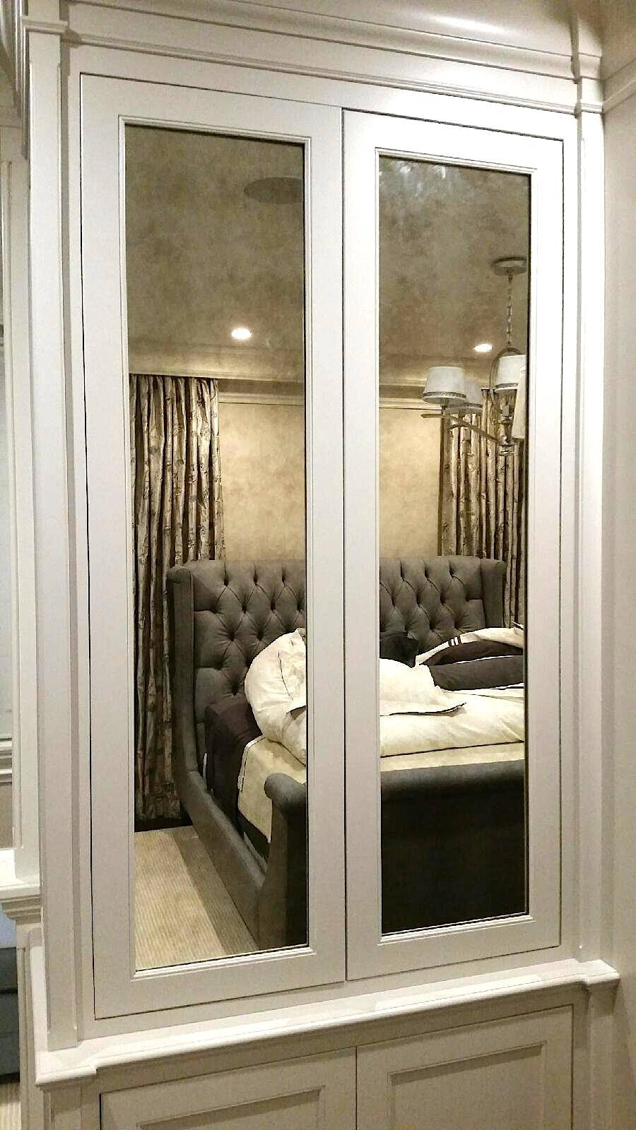 Custom Framed Mirrors in Antiqued Mirrors (Image 12 of 25)