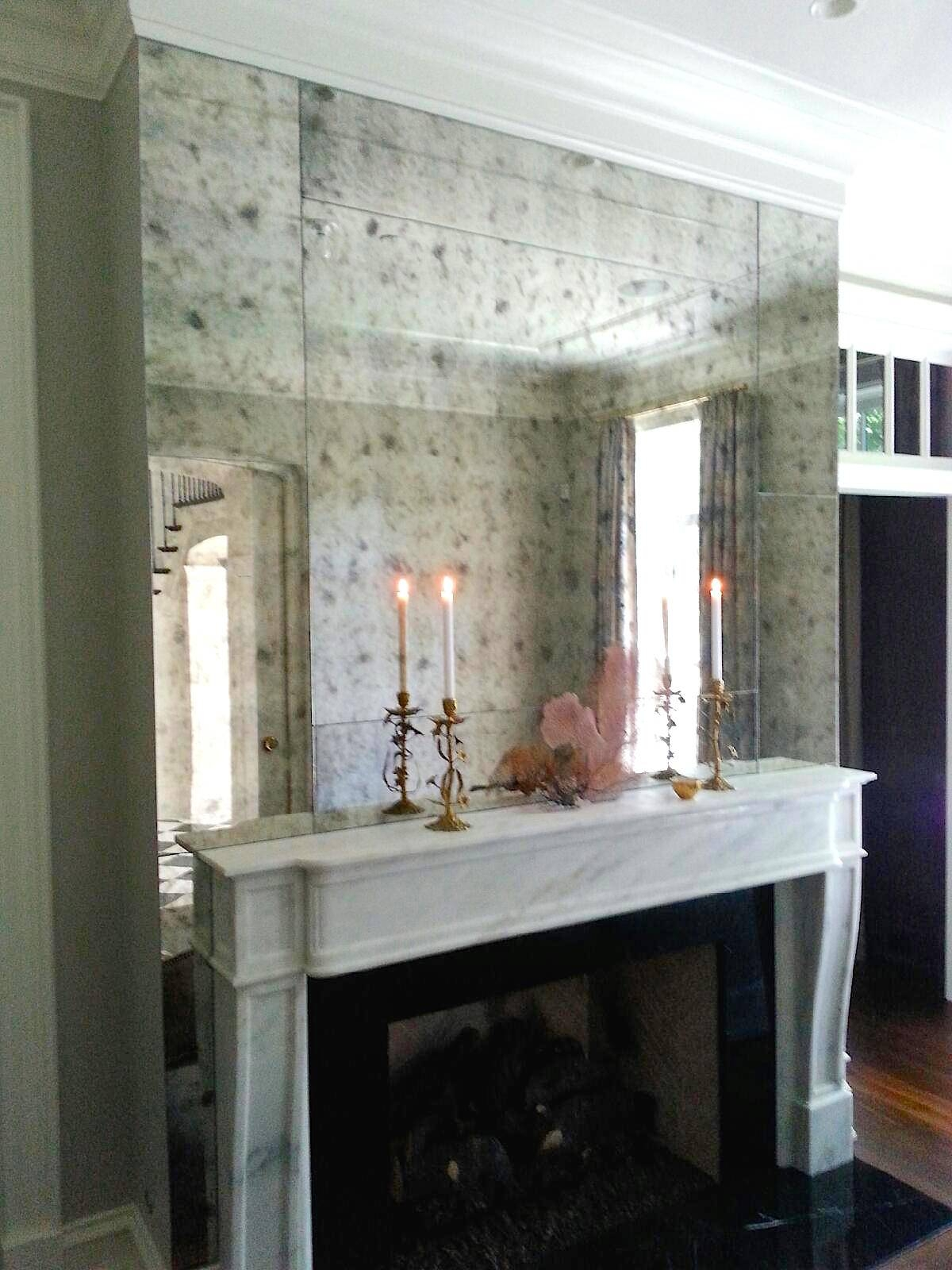 Custom Framed Mirrors throughout Antiqued Mirrors (Image 14 of 25)