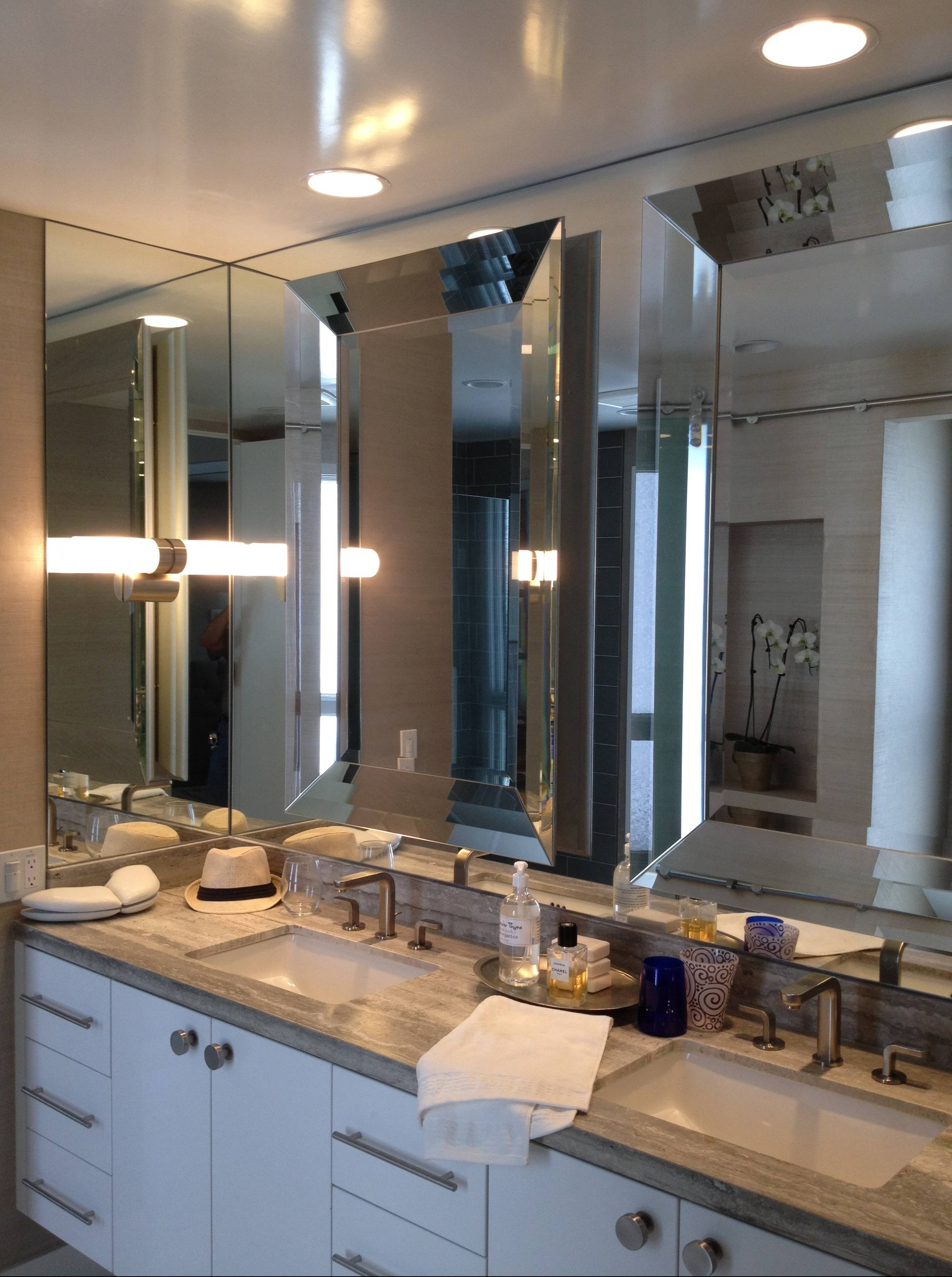 Custom Mirrors In Torrance, Ca | California Reflections Within Large Glass Bevelled Wall Mirrors (View 4 of 25)