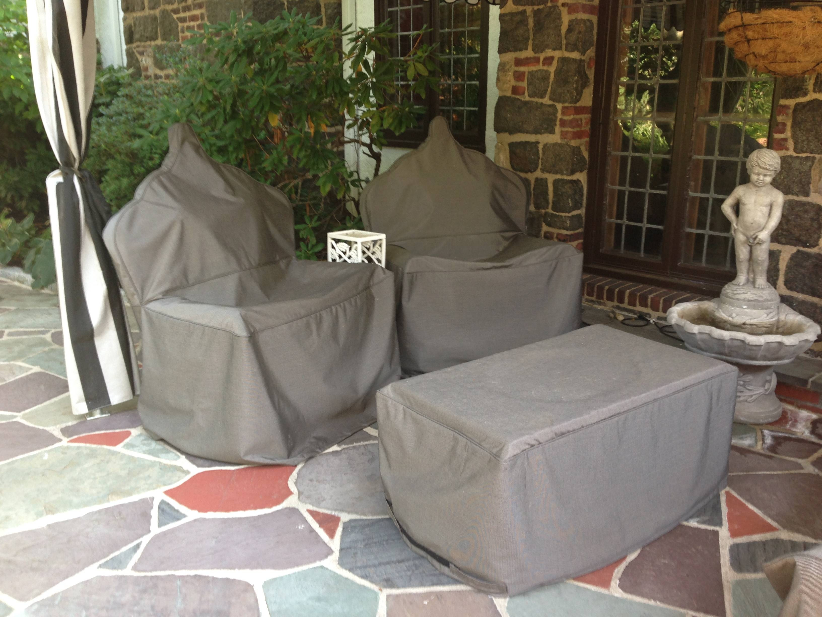Custom Patio Furniture Covers | Outdoor Sectional Covers with Garden Sofa Covers (Image 8 of 26)