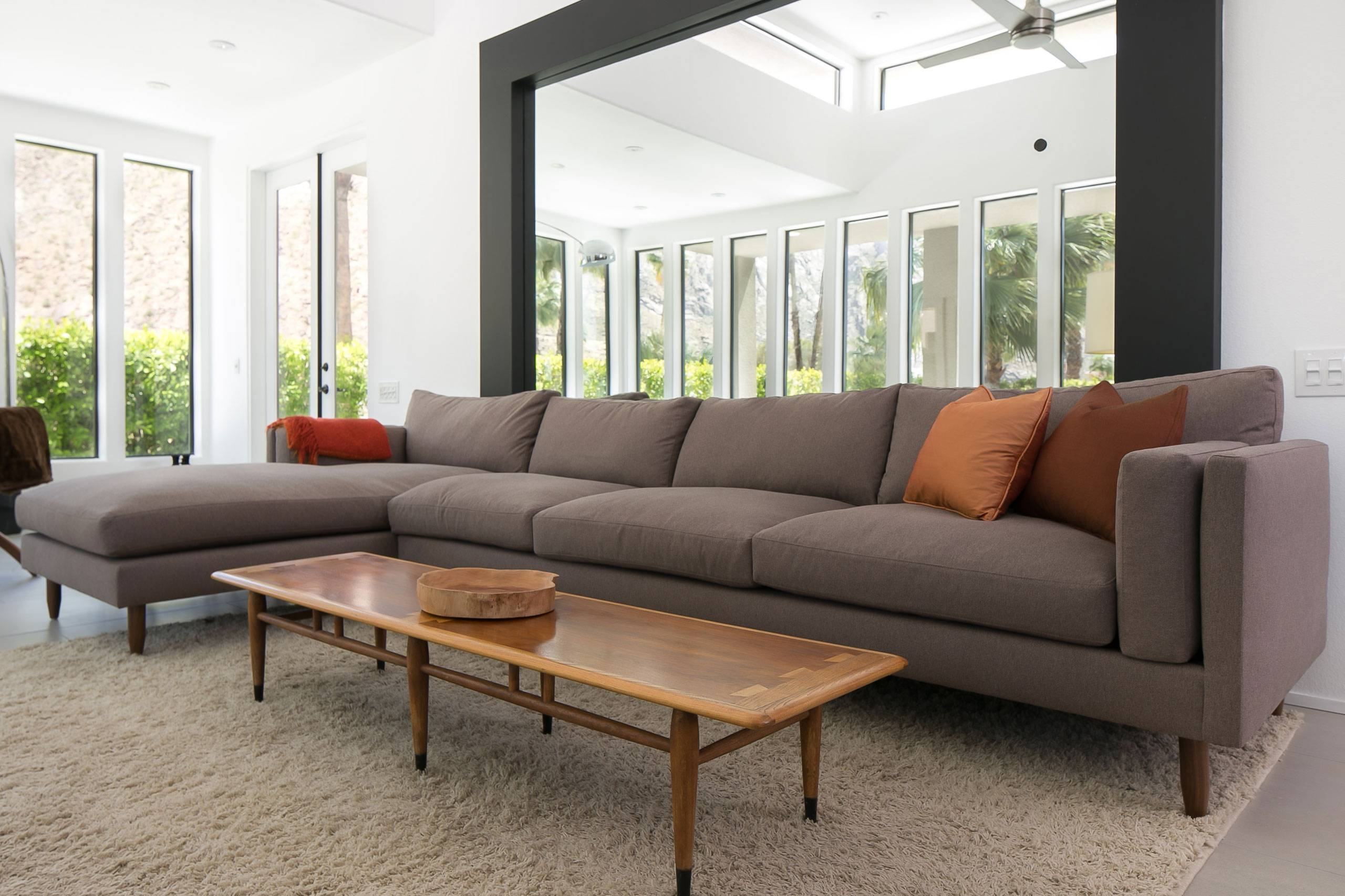 Custom Sized Modern Sofas - Benchmade Modern with regard to American Made Sectional Sofas (Image 11 of 30)