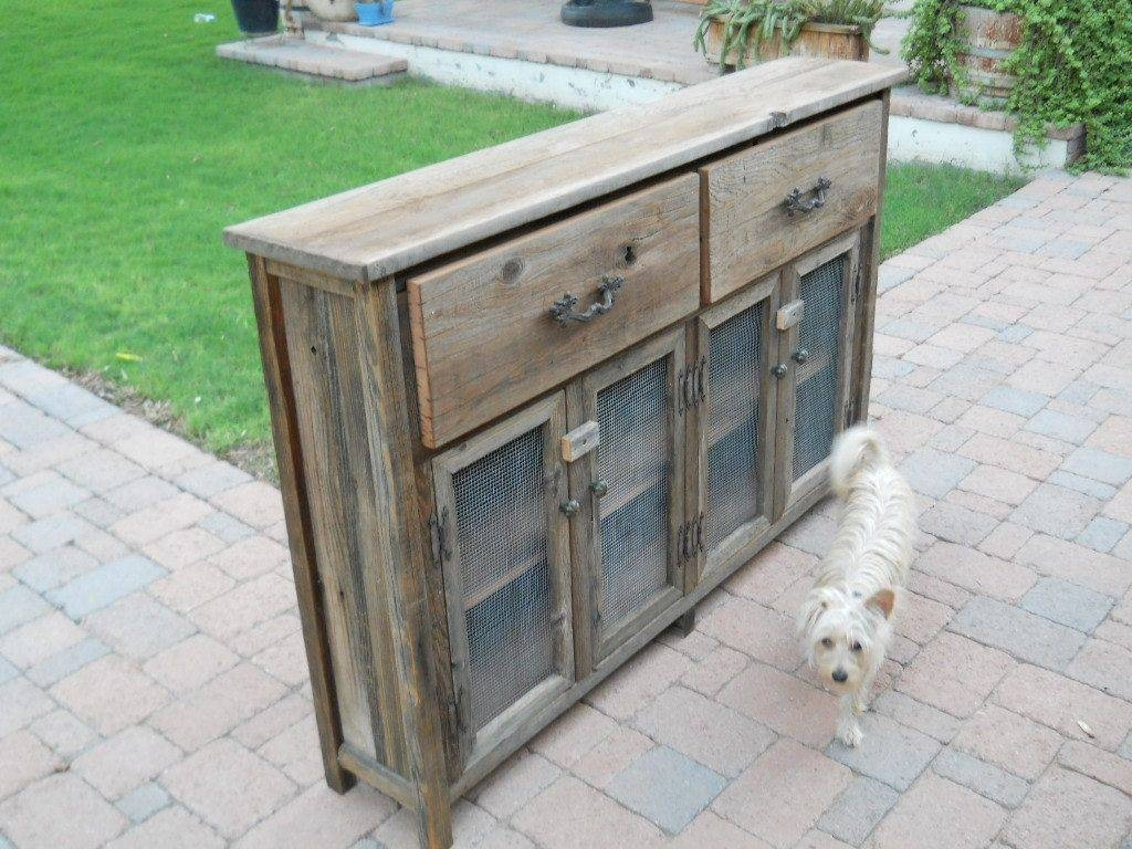 Custom Slim Wooden Buffet Cabinettreehousewoodworks for Thin Sideboard Tables (Image 11 of 30)