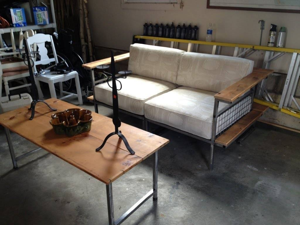 Dale Weller - Metal Sofa Construction Time Lapse - Youtube inside Diy Sofa Frame (Image 11 of 30)