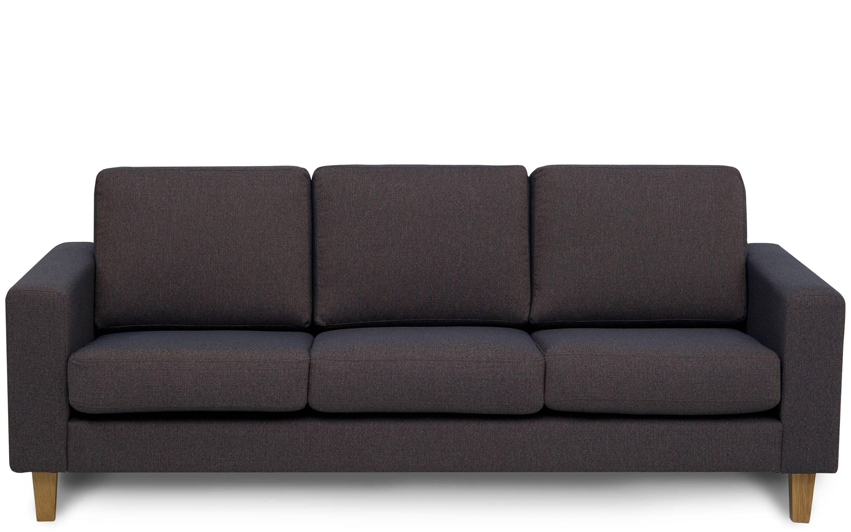 Dalton Three Seater Sofa | Designer Sofas | Buy At Kontenta intended for Three Seater Sofas (Image 14 of 30)