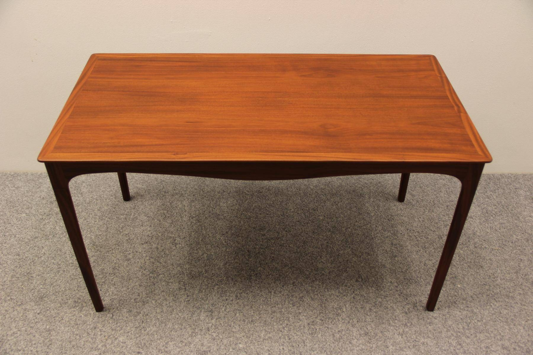 Danish Mahogany Coffee Tableole Wanscher For A.j. Iversen throughout Mahogany Coffee Tables (Image 9 of 30)