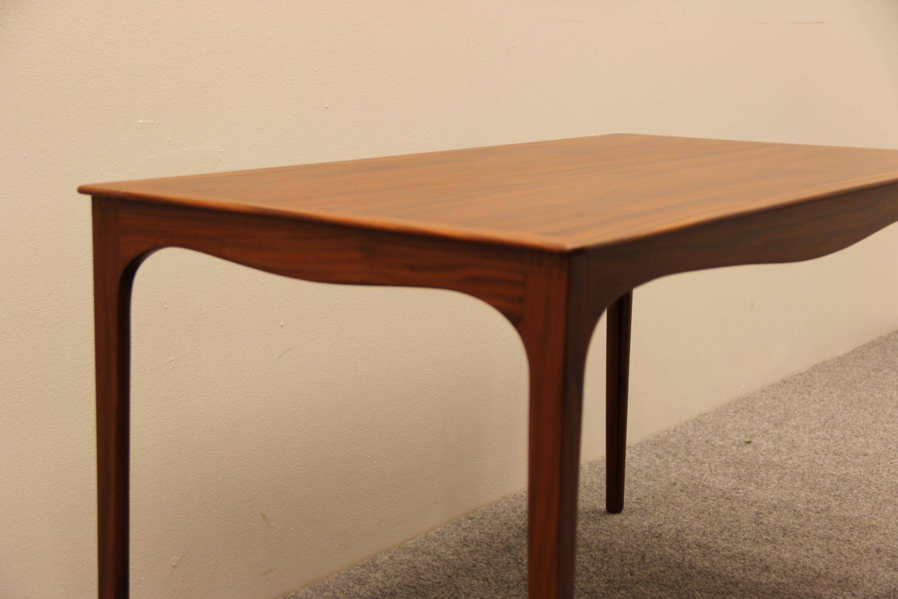 Danish Mahogany Coffee Tableole Wanscher For A.j. Iversen with Mahogany Coffee Tables (Image 10 of 30)