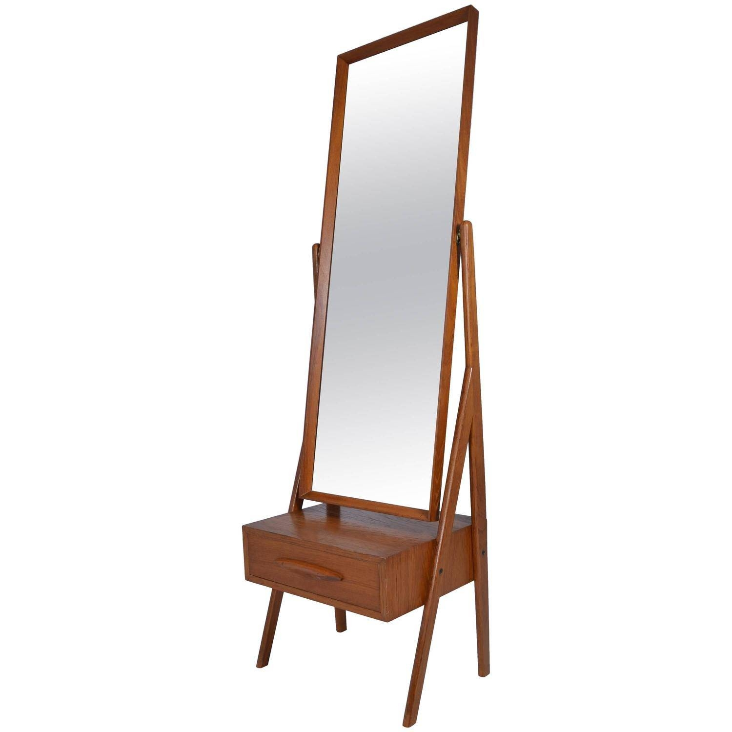 Danish Modern Cheval Mirrorarne Vodder, Circa 1960S For Sale Within Modern Cheval Mirrors (View 2 of 25)