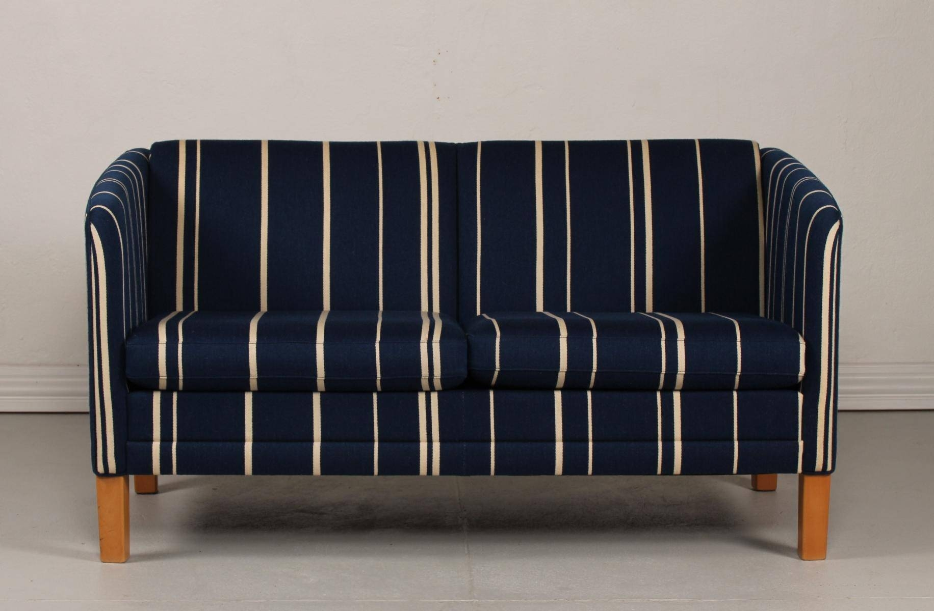 Danish Oxford Sofa With Blue Wool Upholsteryjeki Møbler For In Oxford Sofas (Photo 22 of 30)