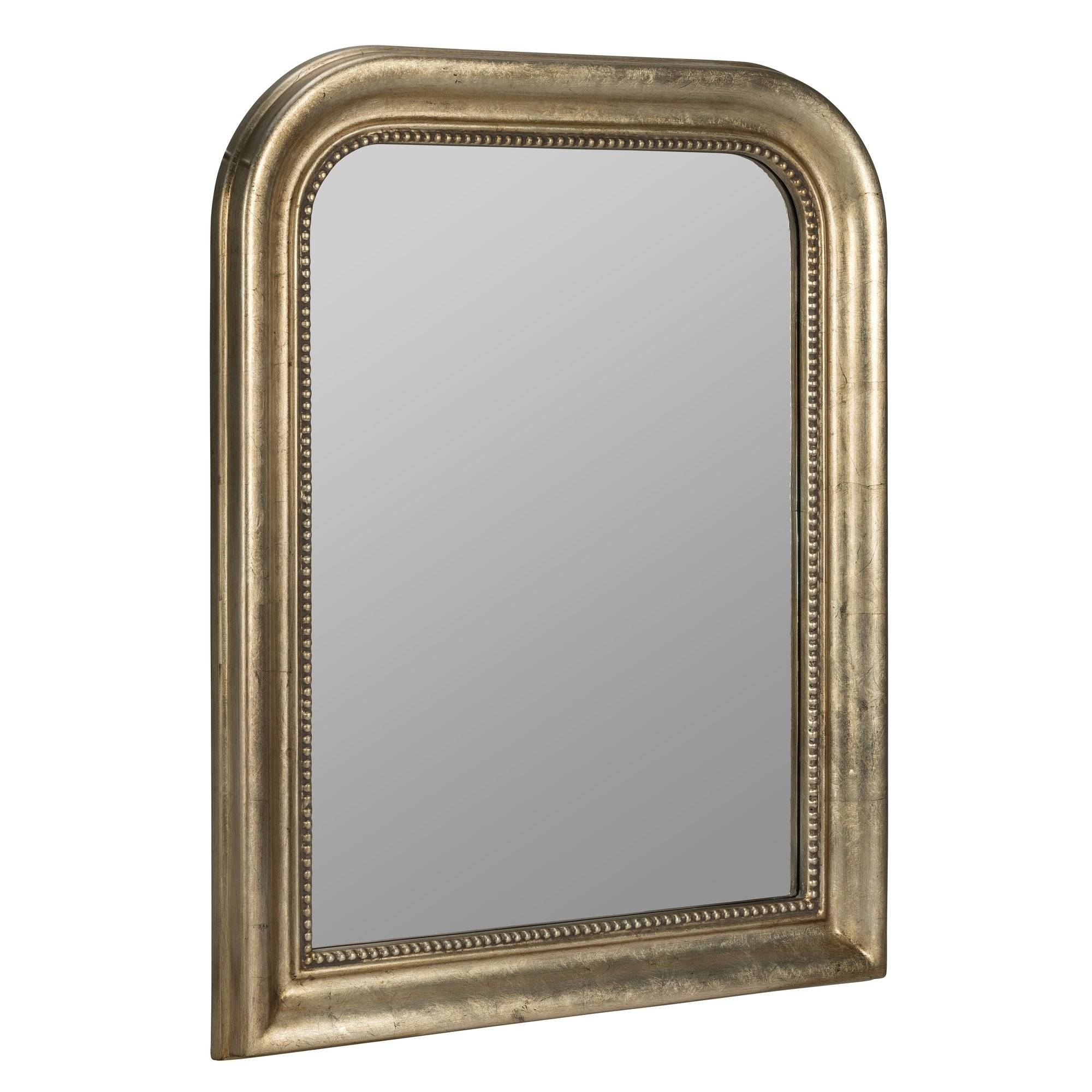 Darby Home Co Antique Champagne Wall Mirror & Reviews | Wayfair pertaining to Champagne Mirrors (Image 10 of 25)