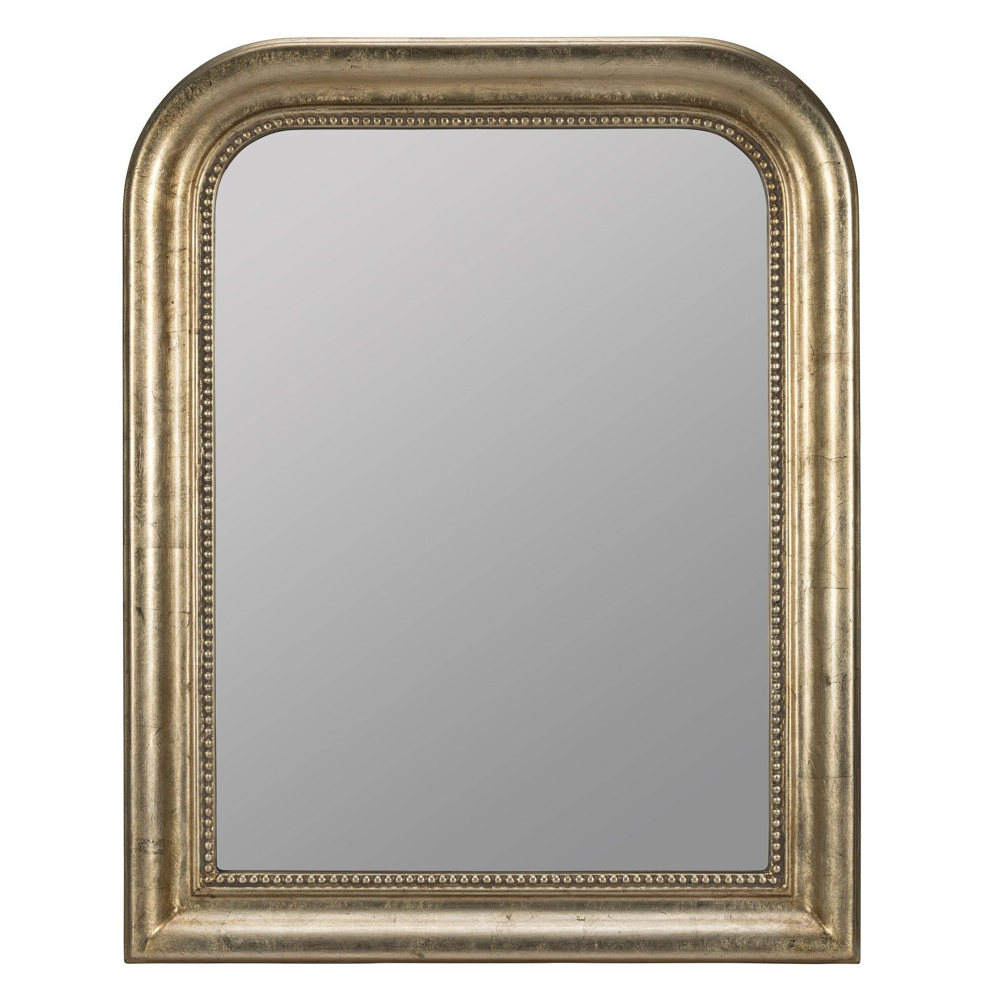 Darby Home Co Antique Champagne Wall Mirror & Reviews | Wayfair throughout Champagne Wall Mirrors (Image 3 of 25)