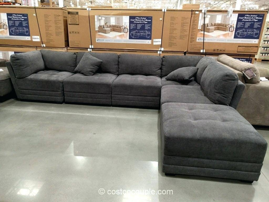 Dark Blue Sectional Canby Modular Sofa Set Costco Fabric Reclining for 6 Piece Modular Sectional Sofa (Image 12 of 30)