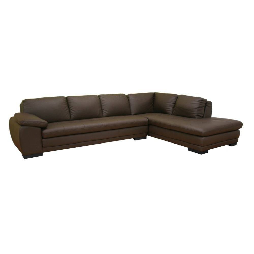 Dark Brown Leather Sectional Sofa Set. Homelegance Columbus throughout Diana Dark Brown Leather Sectional Sofa Set (Image 15 of 30)