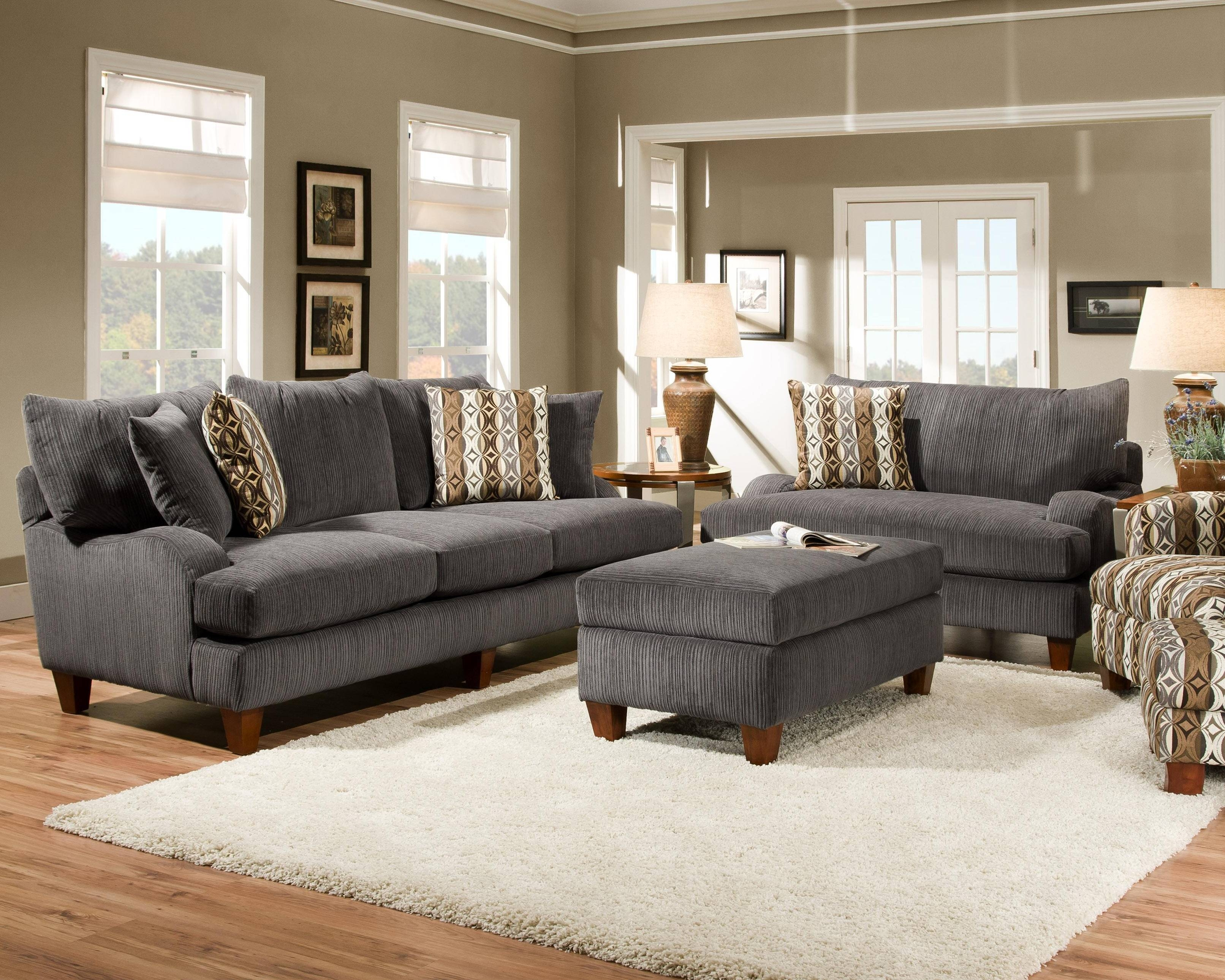 Dark Gray Couch Living Room Ideas Charcoal Grey Decorating Room-2 for Decorating With A Sectional Sofa (Image 17 of 30)