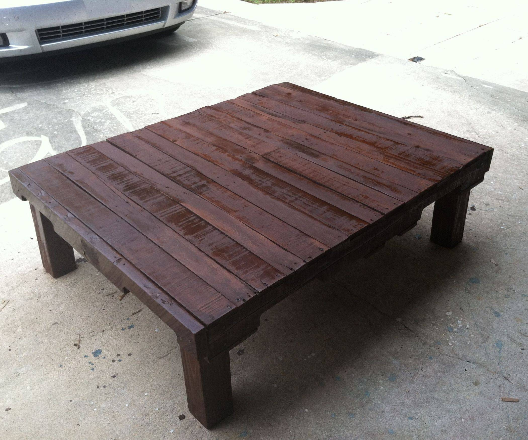 Dark Walnut Coffee Table: 6 Steps (With Pictures) with Dark Coffee Tables (Image 18 of 30)