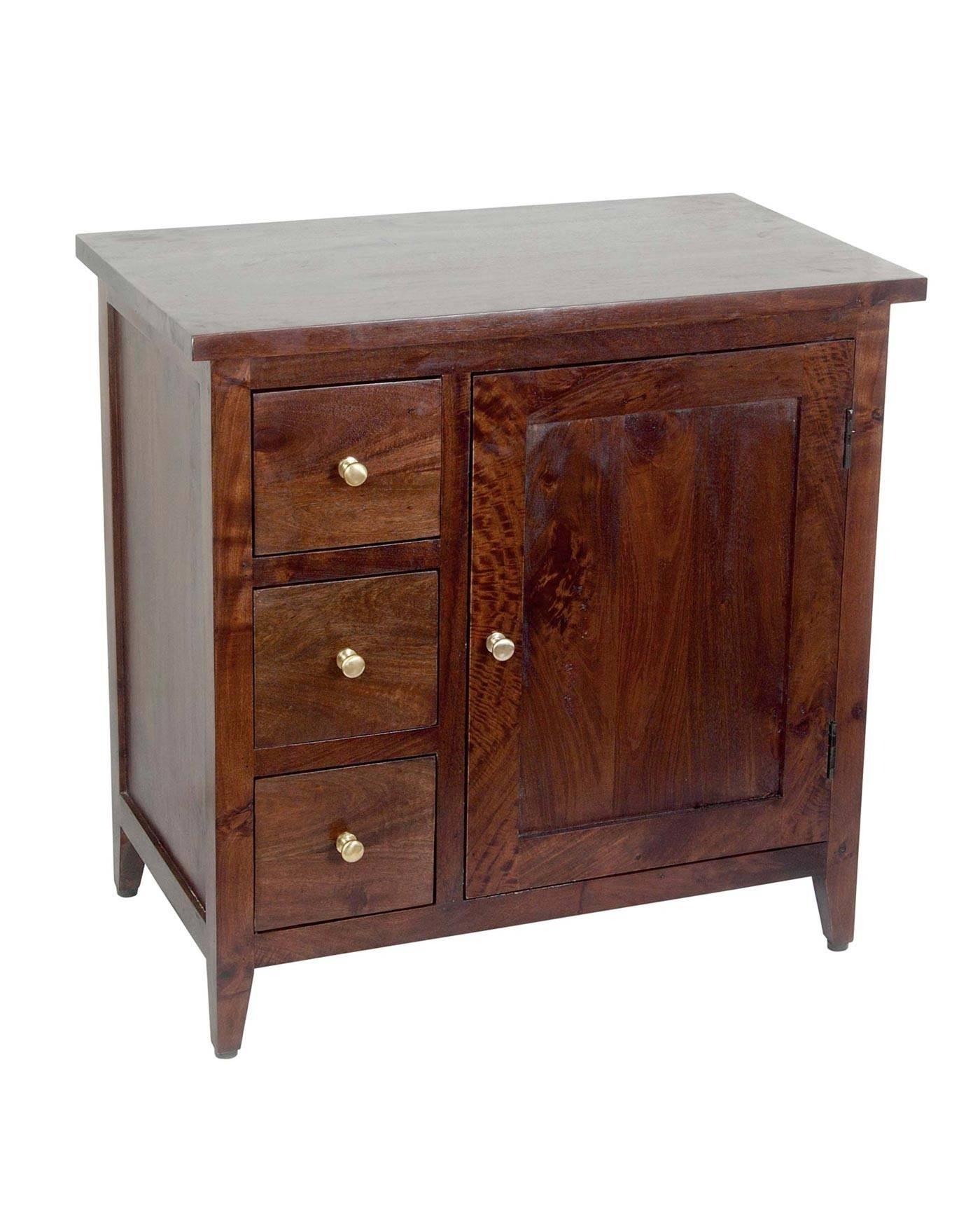 Dark Wood Buffet Sideboard Home Maharani Dark Wood Sideboard 2 for Dark Sideboards (Image 5 of 30)