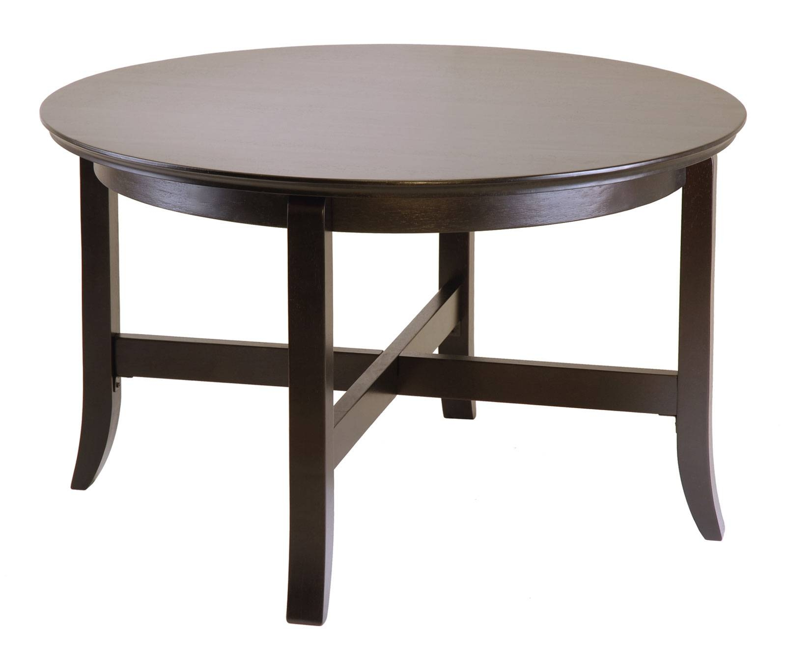 Dark Wood Coffee Table for Dark Wood Round Coffee Tables (Image 14 of 30)