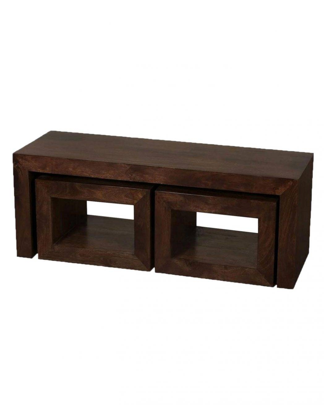 Dark Wood Coffee Table With Iron Base Tables / Thippo with Dark Wooden Coffee Tables (Image 18 of 30)