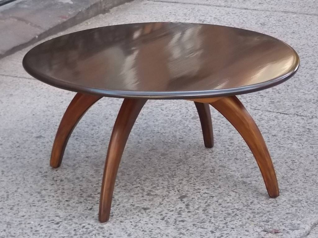 Dark Wood Round Coffee Table | Coffee Tables Decoration in Dark Wood Round Coffee Tables (Image 18 of 30)