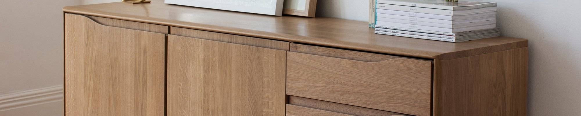 Dark Wood Sideboards | Designer Contemporary Sideboards | Heal's within Wood Sideboards (Image 8 of 30)