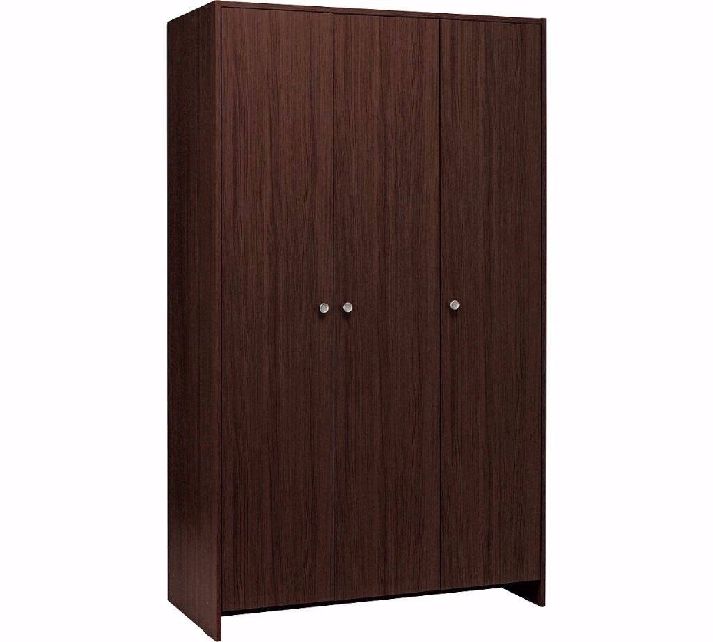 Dark Wood Wardrobes, Black Fitted Wardrobes Fitted Wardrobes Cork with Dark Wood Wardrobe Doors (Image 12 of 30)