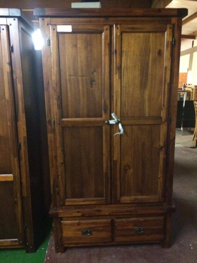 Dark Wood Wardrobes Two Left | In Dungannon, County Tyrone | Gumtree intended for Dark Wood Wardrobes (Image 13 of 30)