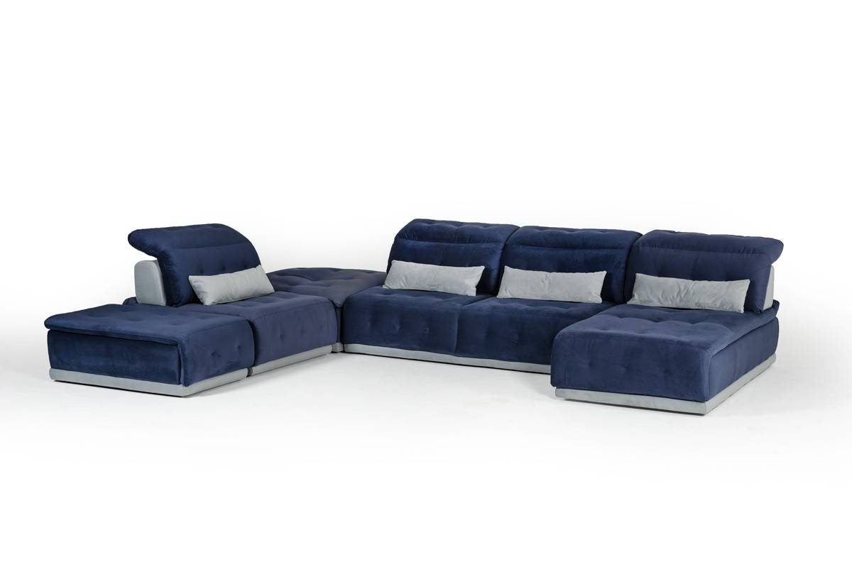 David Ferrari Italian Seating Collection | Modern Living Room Sofa inside Leather Modular Sectional Sofas (Image 2 of 30)