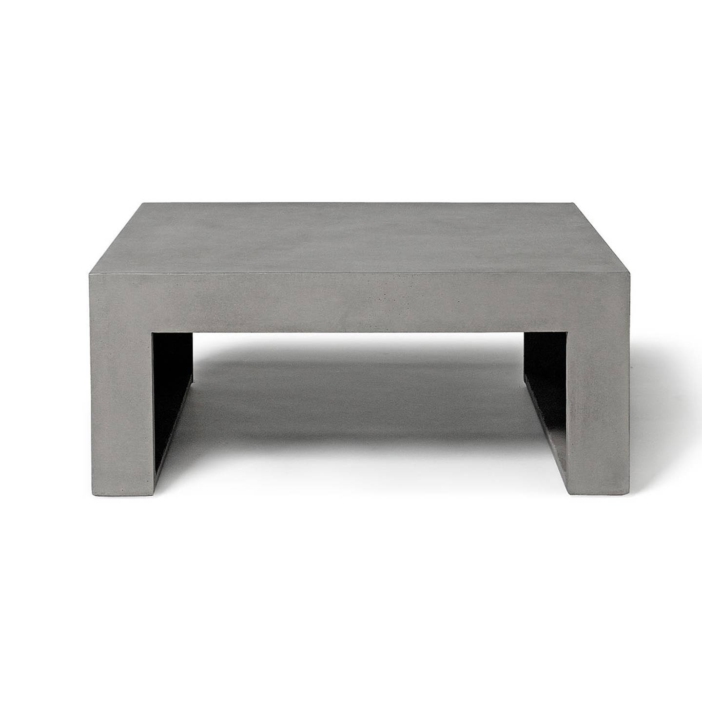 Dawn – Square Low Coffee Table | Lyon Béton Intended For Square Low Coffee Tables (View 7 of 20)