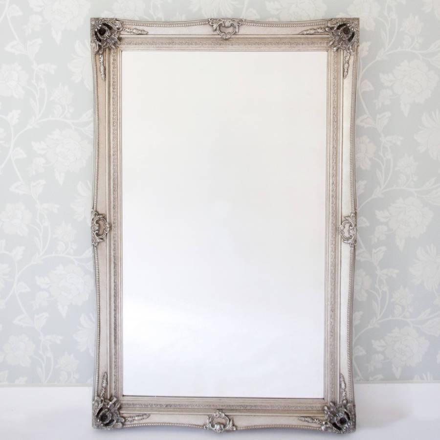 Decadent Silver Dressing Mirrordecorative Mirrors Online in Dressing Mirrors (Image 7 of 25)