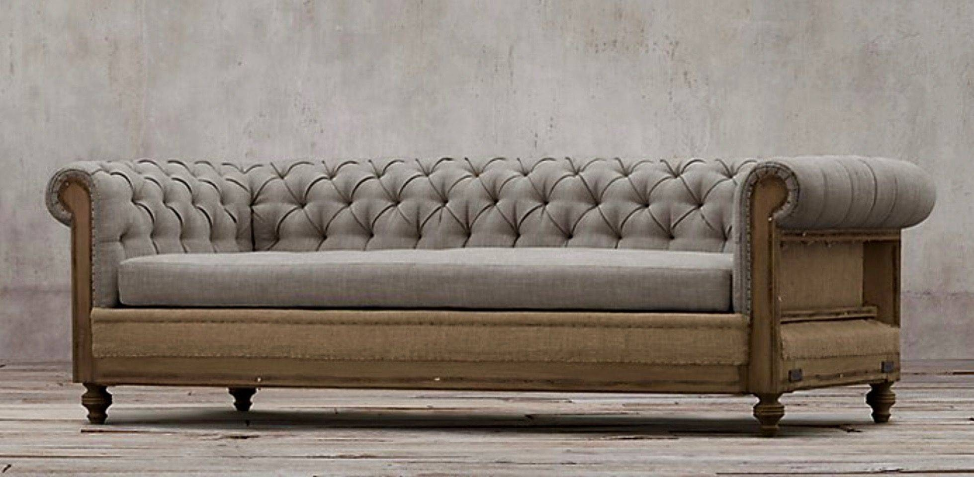 Deconstructed Chesterfield Sofa with regard to Chesterfield Furniture (Image 21 of 30)