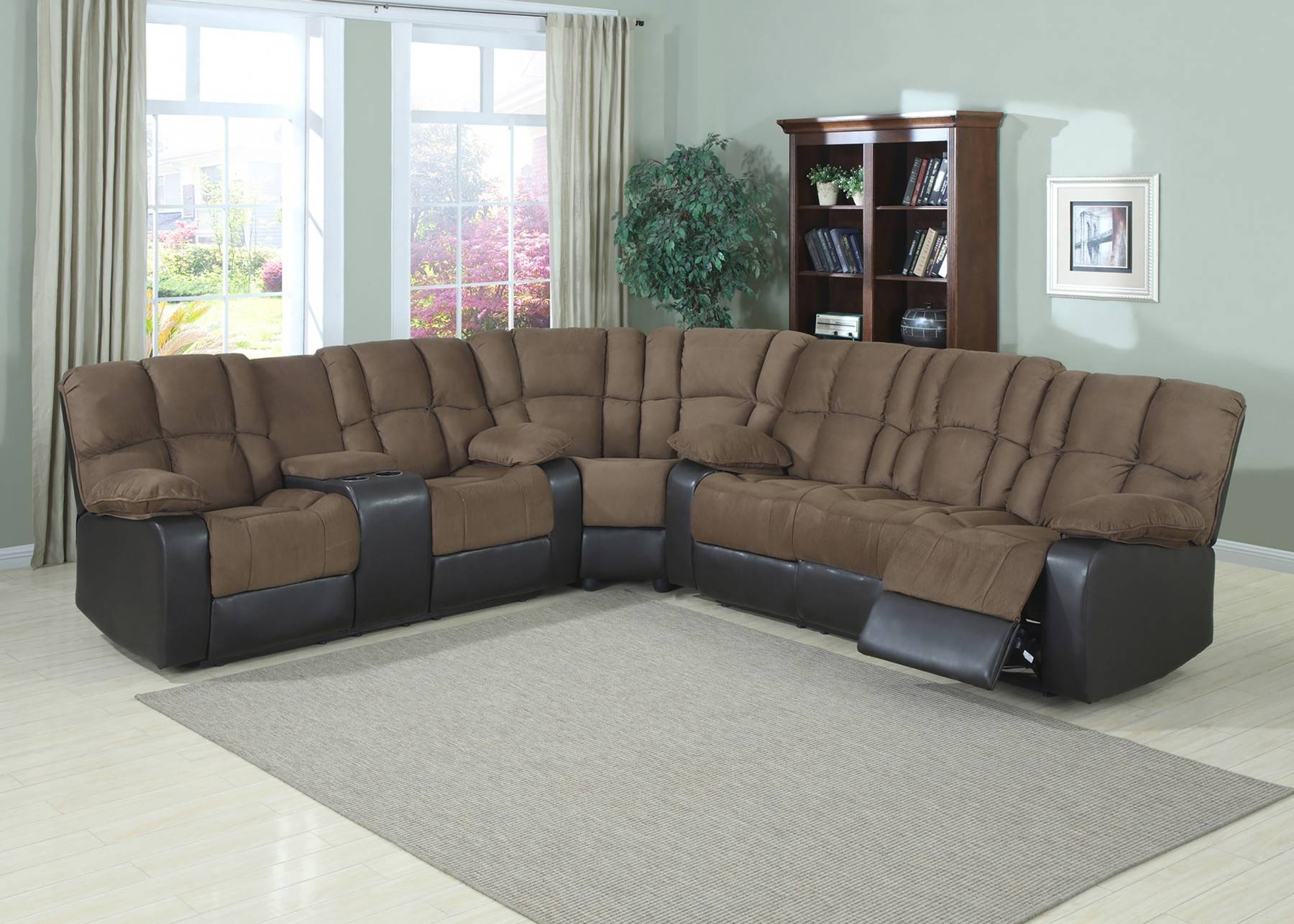 Decor: Artificial Classic Corduroy Sectional Sofa For Unique intended for Extra Wide Sectional Sofas (Image 7 of 30)