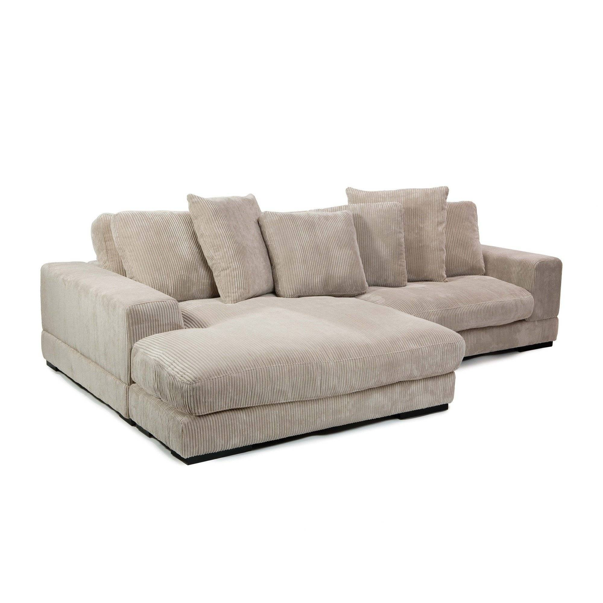Decor: Artificial Classic Corduroy Sectional Sofa For Unique within Leather Modular Sectional Sofas (Image 3 of 30)