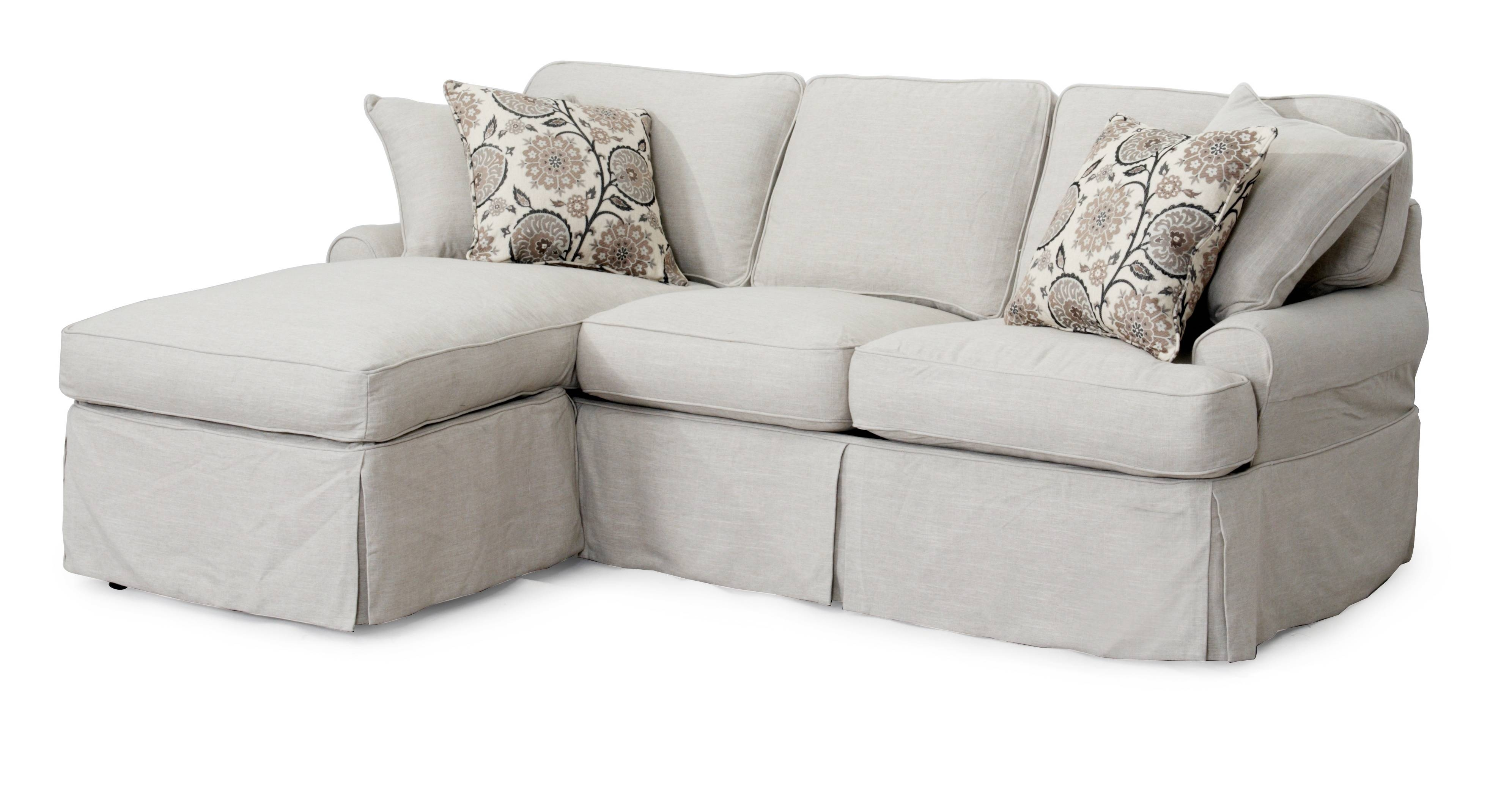 Decor: Breathtaking Target Slipcovers For Chic Home Furniture throughout Chaise Sofa Covers (Image 2 of 30)